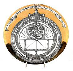 Fornasetti Astrolabe Plate