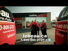 Publicité Lebeau Vitres d'autos - Mobile Partout www.lebeau.ca