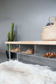 Entrance Bench with Shoe Storage . Entrance Bench with Shoe Storage . Small Modern Entryway Shoe Storage Design Bined with Shoe Storage Bench Entryway, Shoe Rack Bench, Diy Shoe Rack, Entry Bench, Hallway Storage, Ikea Storage, Small Storage, Bedroom Storage, Storage Ideas
