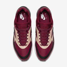 newest collection 3c9c5 d8ab7 Chaussure Nike Air Max Bw Pas Cher Femme et Homme Premium Rouge Equipe Brun  Vachette Blanc