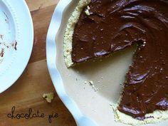 Raw version of chocolate pie, gotta try!
