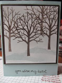 Kristin's Cards and Creations: Sheltering Tree
