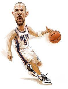 Jason Kidd Caricature