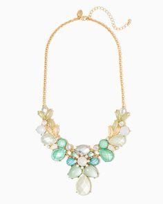 charming charlie | Sonya Estate Bib Necklace | UPC: 410007473279 #charmingcharlie