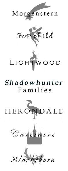 Shadowhunters Families