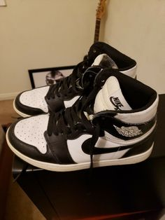 watch d30f2 489fc Air jordan 1 Retro Black White Size 10  fashion  clothing  shoes   accessories  mensshoes  athleticshoes (ebay link)