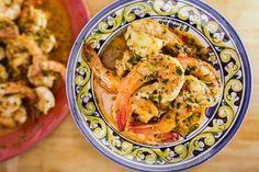 Rachael's Calabrian-Style Shrimp Scampi - Rachael Ray