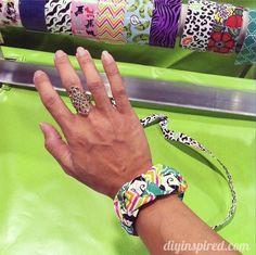 Braided Duck Tape Bracelet Tutorial