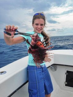 Palm Beach County girl credited for breakthrough in lionfish research