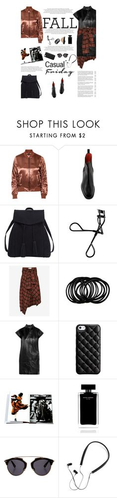 """""""Untitled #2809"""" by amimcqueen ❤ liked on Polyvore featuring Topshop, Santoni, Violeta by Mango, Bobbi Brown Cosmetics, Faith Connexion, Yves Saint Laurent, Case-Mate, Yohji Yamamoto, Narciso Rodriguez and Christian Dior"""