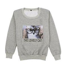Kpop BTS V JIMIN Sweatshirt Cat Print Hoodie Fashion Glas... https://www.amazon.com/dp/B01M6ZFR23/ref=cm_sw_r_pi_dp_x_nRwcybP4RFKEW
