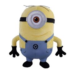 Despicable Me Stuffed Minions Chubby | Despicable Me™ Minion Stuart Plush | Universal Orlando™