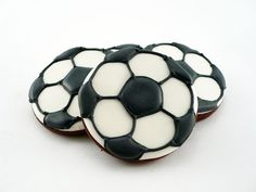 Decorated Cookies Soccer by katieduran on Etsy, $26.00