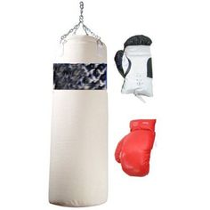 Other Combat Sport Clothing 73988: 2 Pairs Of Boxing Gloves With One Punching Bag New, New -> BUY IT NOW ONLY: $119.99 on eBay!