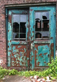 Old doors; yummy colors