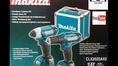 MAKITA CLX202SAX2 UNBOXING VIDEO GR - ΣΕΤ MAKITA