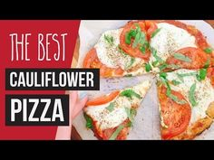 Best Homemade Pizza + Breadsticks Recipe with Cauliflower Crust Cauliflower Crust, Cauliflower Recipes, Cauliflower Breadsticks, Clean Eating Recipes, Healthy Eating, Healthy Recipes, Healthy Dinners, Healthy Food, Best Homemade Pizza