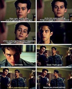 """S4 Ep4 """"The Benefactor"""" - Liam, Stiles and Scott"""