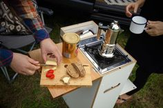 MOVOVAN Outdoor kitchen - easy to get in and out