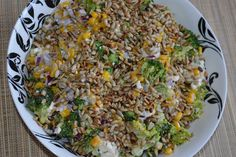 W kuchni u Moniki...: Sałatka z brokułem