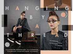 """Check out this @Behance project: """"Hangign by Thread""""…"""