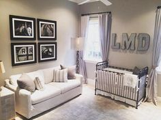 A neutral and classic nursery space by IG mama @daytaryn. Featuring Bratt…