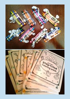 Max and Ruby Birthday Party  Favor Coloring Books w/Colors (printed coloring pages from Rosemary Wells and Nick Jr.)