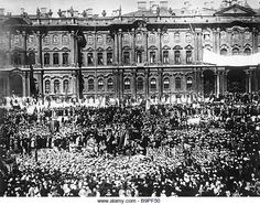 A Rally of Protest on Palace Square in Petrograd on 18 April 1917.  The USSR Central State Archives of Film