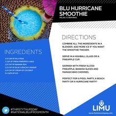 LIMU Blu Hurricane Smoothie: wigsby.iamlimu.com
