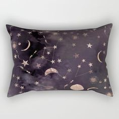 Constellations  Rectangular Pillow by Nikkistrange #PrintedGift