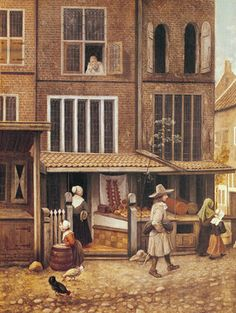 <strong>Figure 6</strong> Jacobus Vrel, <em>Corner of a Town with a Bakery</em>