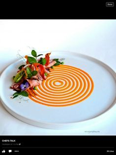 Wintersalat mit Karottendressing ohne Kohlenhydrate im Amuse Bouche Style www.instagram.com/low.carb.gourmet