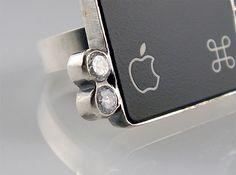 recycled mac jewelry