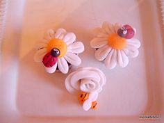 Margarida e joaninha para cupcakes  Blog da Mago