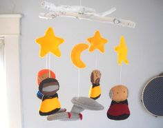 Star Trek Mobile - Baby Crib Mobile - CUSTOMIZE. $120.00, via Etsy.  If I have a boy, he is so getting this.