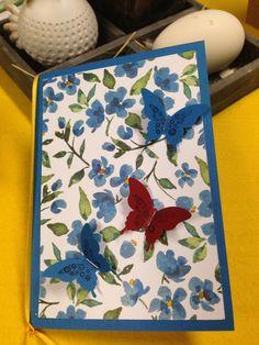 Schmetterlingsstanze von Stampin Up