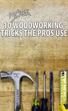 Whether to speed up the build, or make things easier, take these tips and tricks from the professionals into your own shop and use them on your next project.