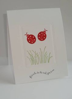 Darling Dots by SU * CAS You and me by sln1294 - Cards and Paper Crafts at Splitcoaststampers