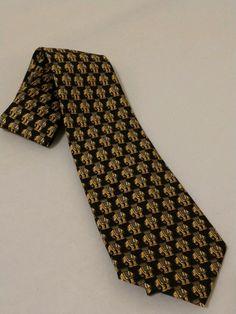 5268c870c4e5 JIM THOMPSON Black Men's 100% Silk Tie Elephant Design #fashion #clothing  #shoes #accessories #mensaccessories #ties (ebay link)