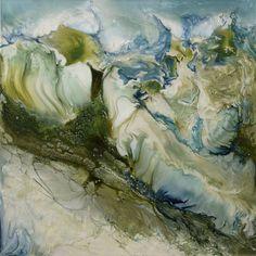 """Saatchi Art Artist Lia Melia; Painting, """"Pure Ice; sold"""" #art"""