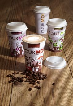 Pour Moi Coffee Cups