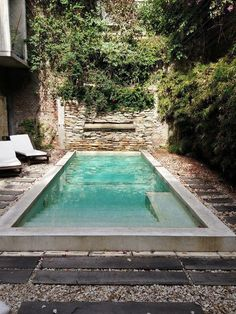 Having a pool in your backyard can be a great recreational avenue for the whole family. Match a beautiful garden to a good swimming pool design and you got yourself a great place to host formal as well as family… Continue Reading → Amazing Swimming Pools, Building A Swimming Pool, Swimming Pool House, Natural Swimming Pools, Swimming Pool Designs, Indoor Pools, Small Indoor Pool, Outdoor Pool, Outdoor Decor