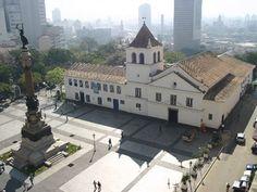 São Paulo, Brasil - Páteo do Colégio e Museu Anchieta