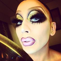 Bianca Del Rio prepares to give nighttime clown realness