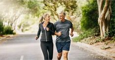 Looking to Get Fit After 40 and Live Longer? You Just Need to Start With These Small Steps (FitSugar) Mature Couples, Fit Couples, Daily Workout Schedule, Middle Aged Man, Benefits Of Exercise, Wellness Fitness, Fitness Life, Older Men, Live Long
