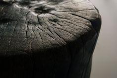 charred tree stump furniture - Google Search