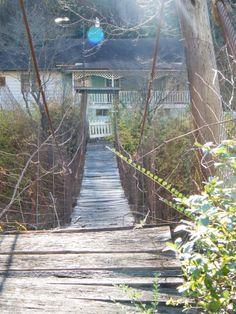 Swinging Bridge - Evarts, KY Harlan Kentucky, My Old Kentucky Home, Appalachian People, Appalachian Mountains, Harlan County, West Virginia History, Coal Mining, Inner Peace, Historical Sites