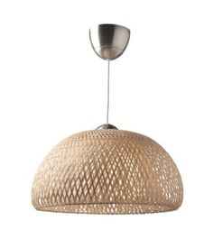 light- the light really matches the wood of the bed, the hanging chair and the lamp. the woven shade had a sandy look to it giving it a be achy theme as well as an urban earth feel