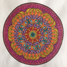 Mystical Mandala Coloring Book (Dover Design Coloring Books) by Alberta Hutchinson - p.20
