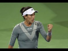 2018 Dubai Second Round | Garbiñe Muguruza vs. CiCi Bellis | WTA Highlights